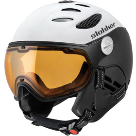 Slokker Balo Helm, white-black